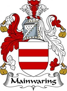 The Mainwaring Coat of Arms