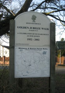 JubileeGardenssign